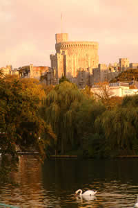 Windsor Castle in the autumn